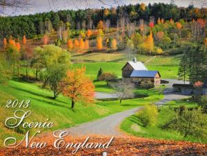 2013 Scenic New England Calendar Now Available