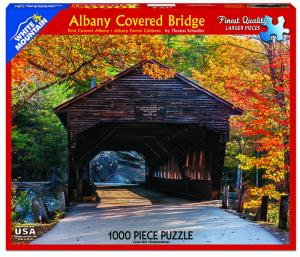 Newest Covered Bridge Jigsaw Puzzle Available By Thomas Schoeller Photography